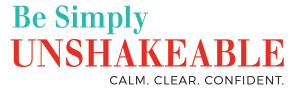Simply unshakeable logo