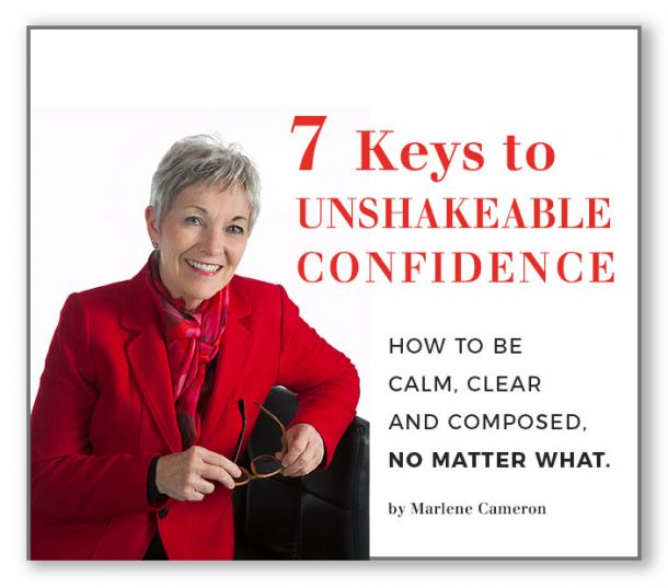 Seven Keys to Unshakeable Confidence- e-book by Marlene Cameron