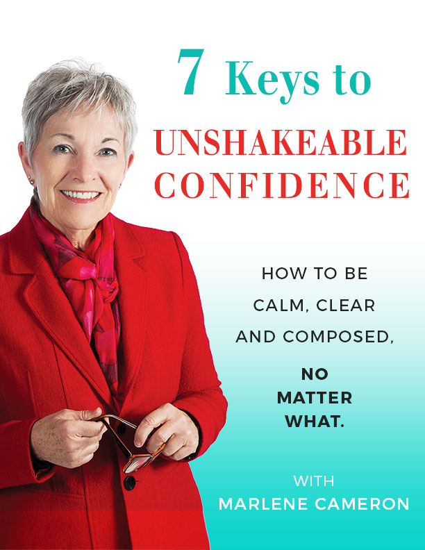 7 Keys to Unshakeable Confidence e-book by Marlene Cameron