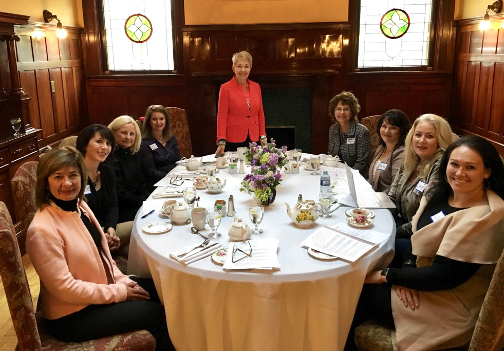 Lunch and Learn Series held at the Lougheed House in Calgary