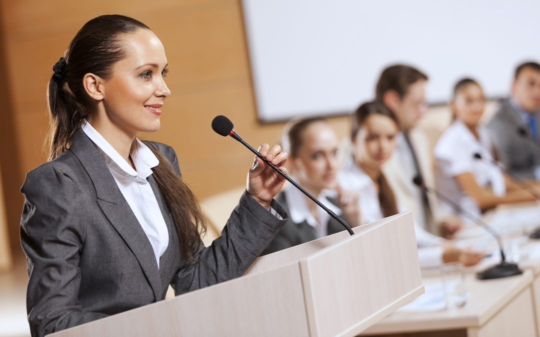 Fear of Public Speaking Blocks Business Success