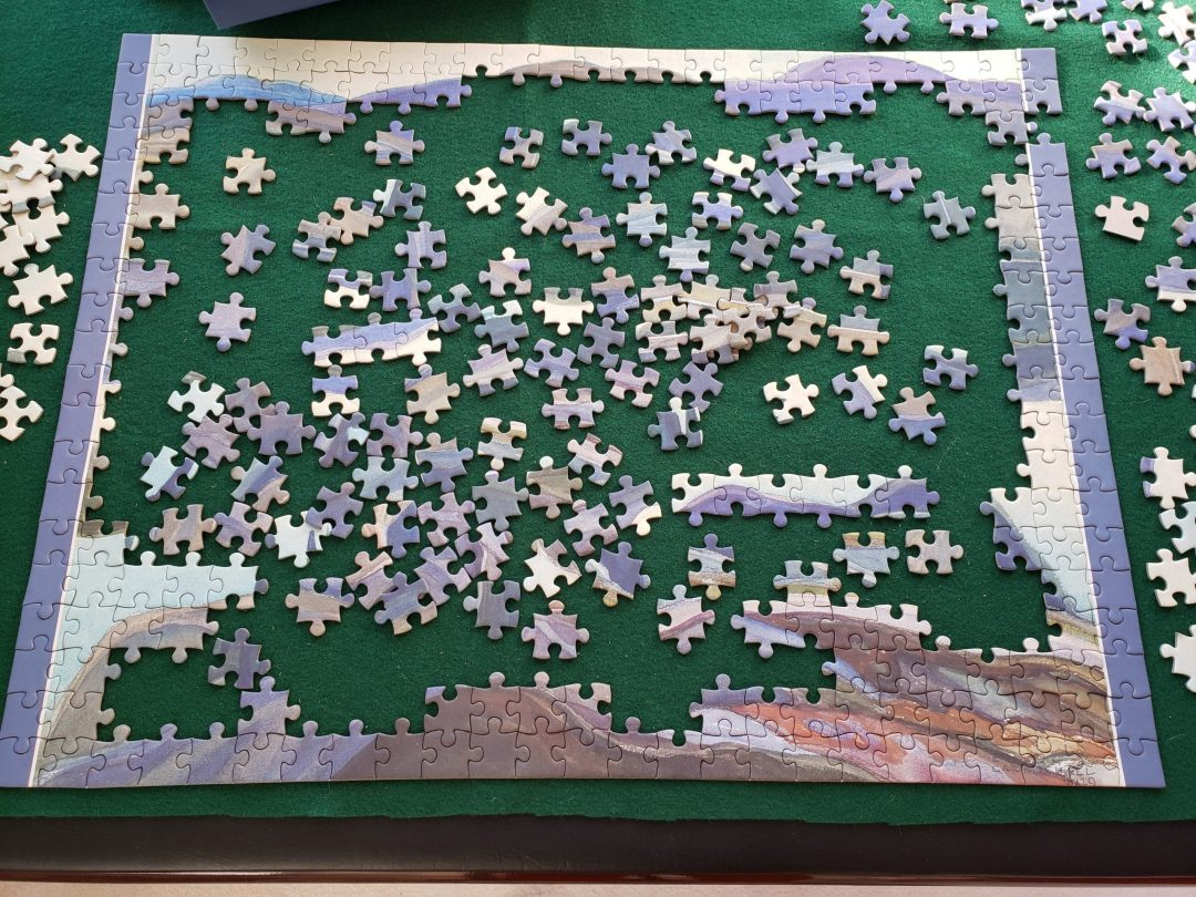 Jigsaw Puzzle becoming a Reality