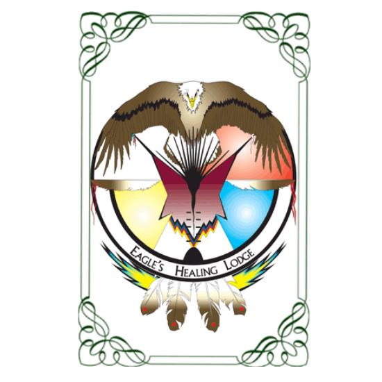 Saddle Lake  Eagle Healing Lodge logo