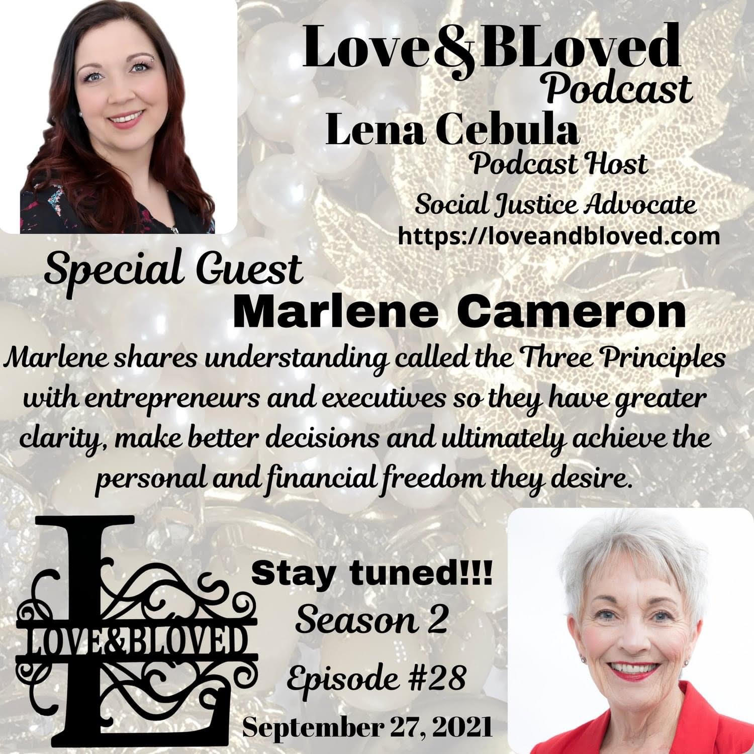 Love and BLoved Podcast with Lena Cebula
